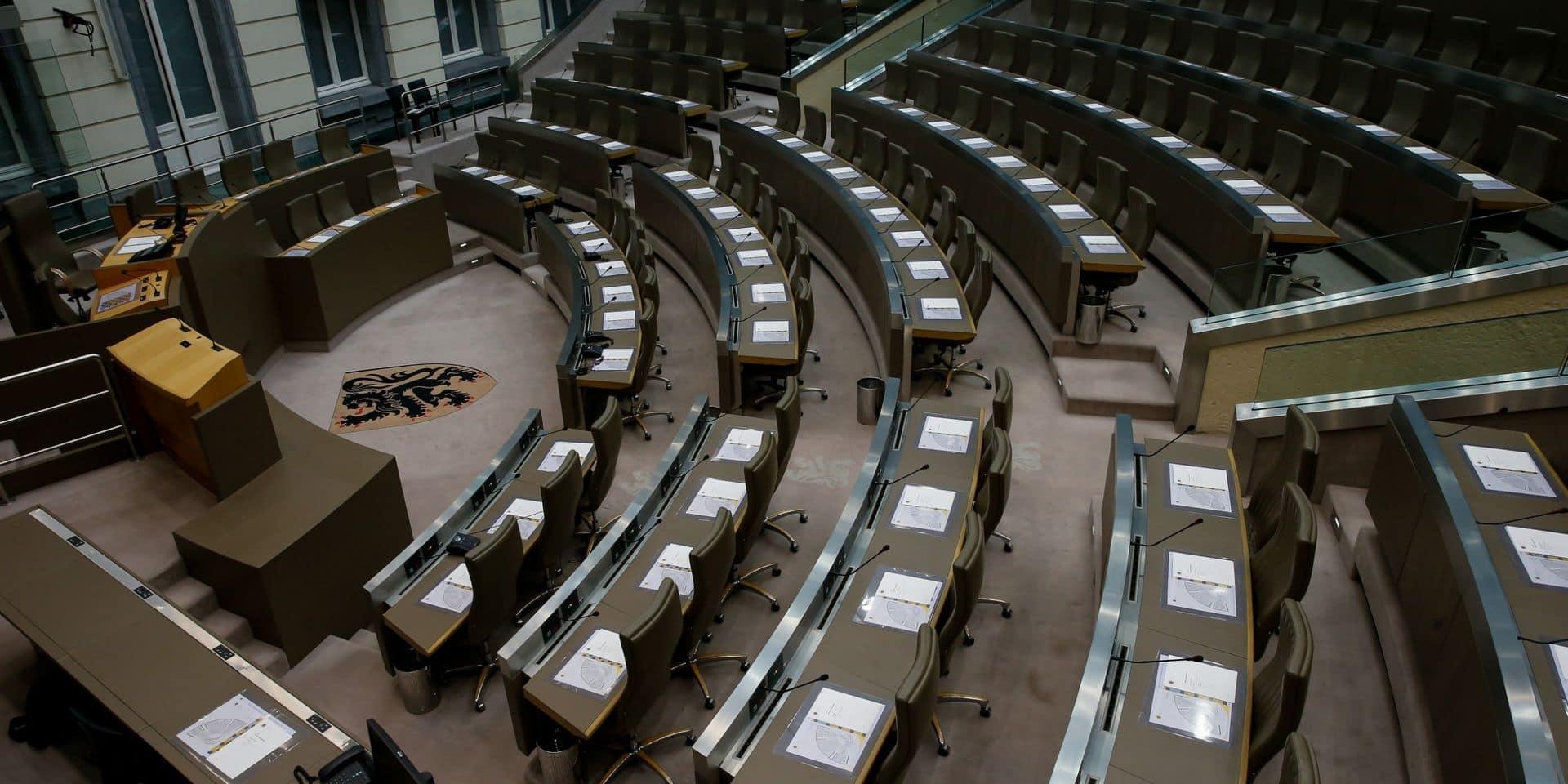 La répartition des places dans le Parlement flamand tourne à la foire d'empoigne