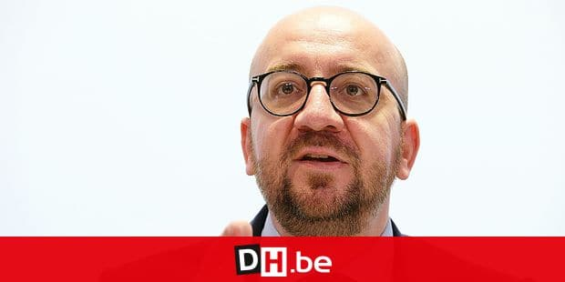 Belgian Prime Minister Charles Michel pictured during during a press conference on the federal budget, on Saturday 15 October 2016, in Brussels. The federal government agreed Friday evening on a budget for next year, after discussions that took several days. BELGA PHOTO NICOLAS MAETERLINCK