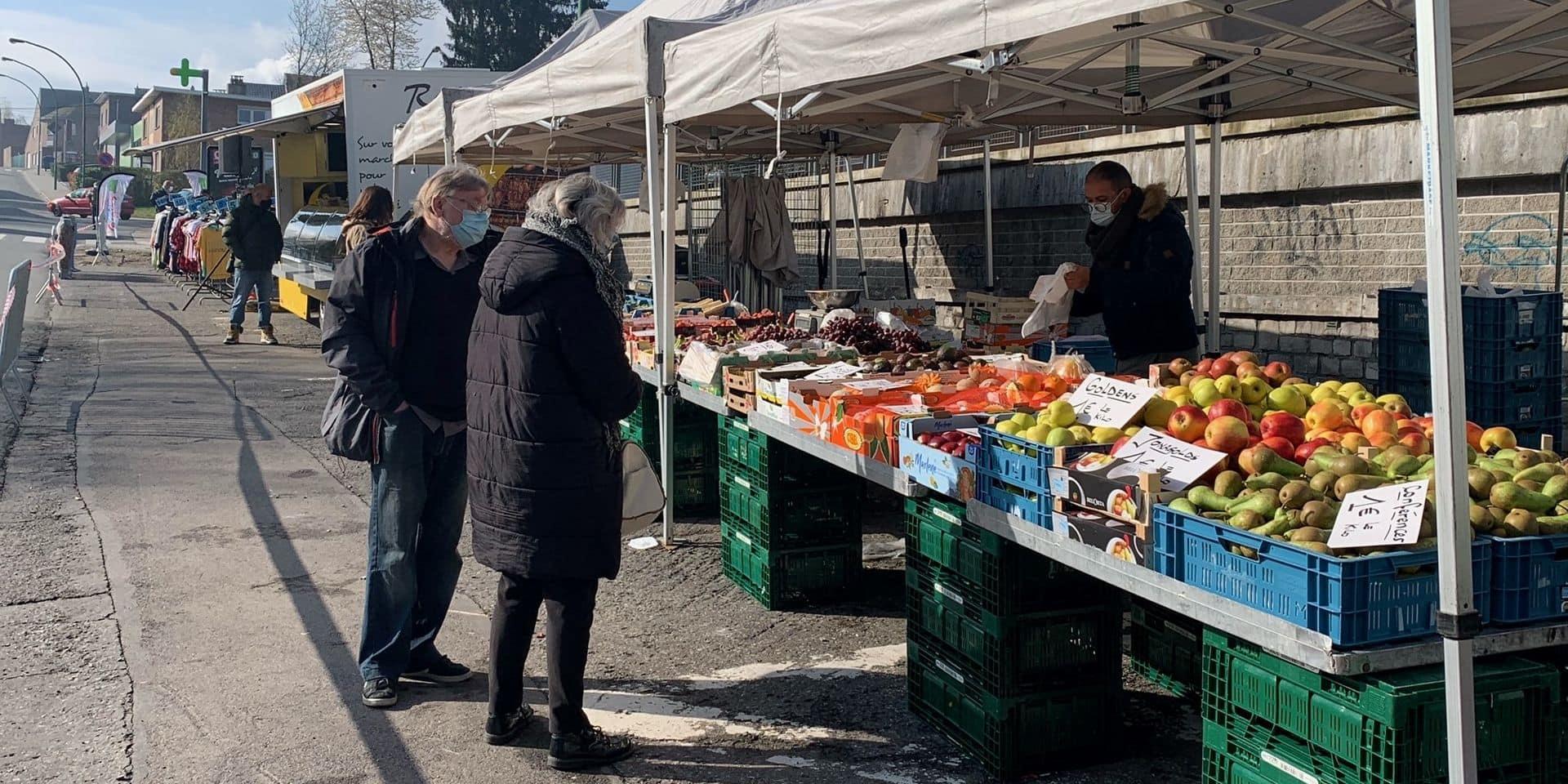 Le nouveau marché de Jemeppe a été inauguré ce mardi