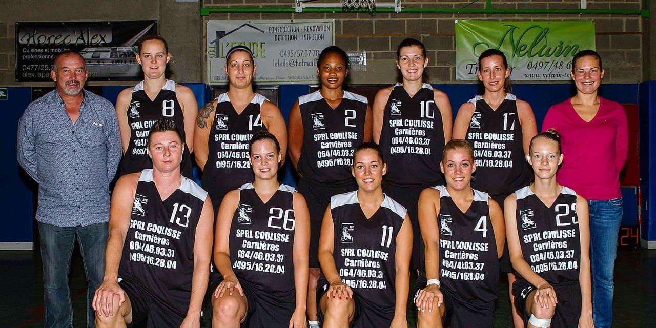 Basket-ball: et si Courcelles s'assurait déjà les playoffs en R2 dames ?