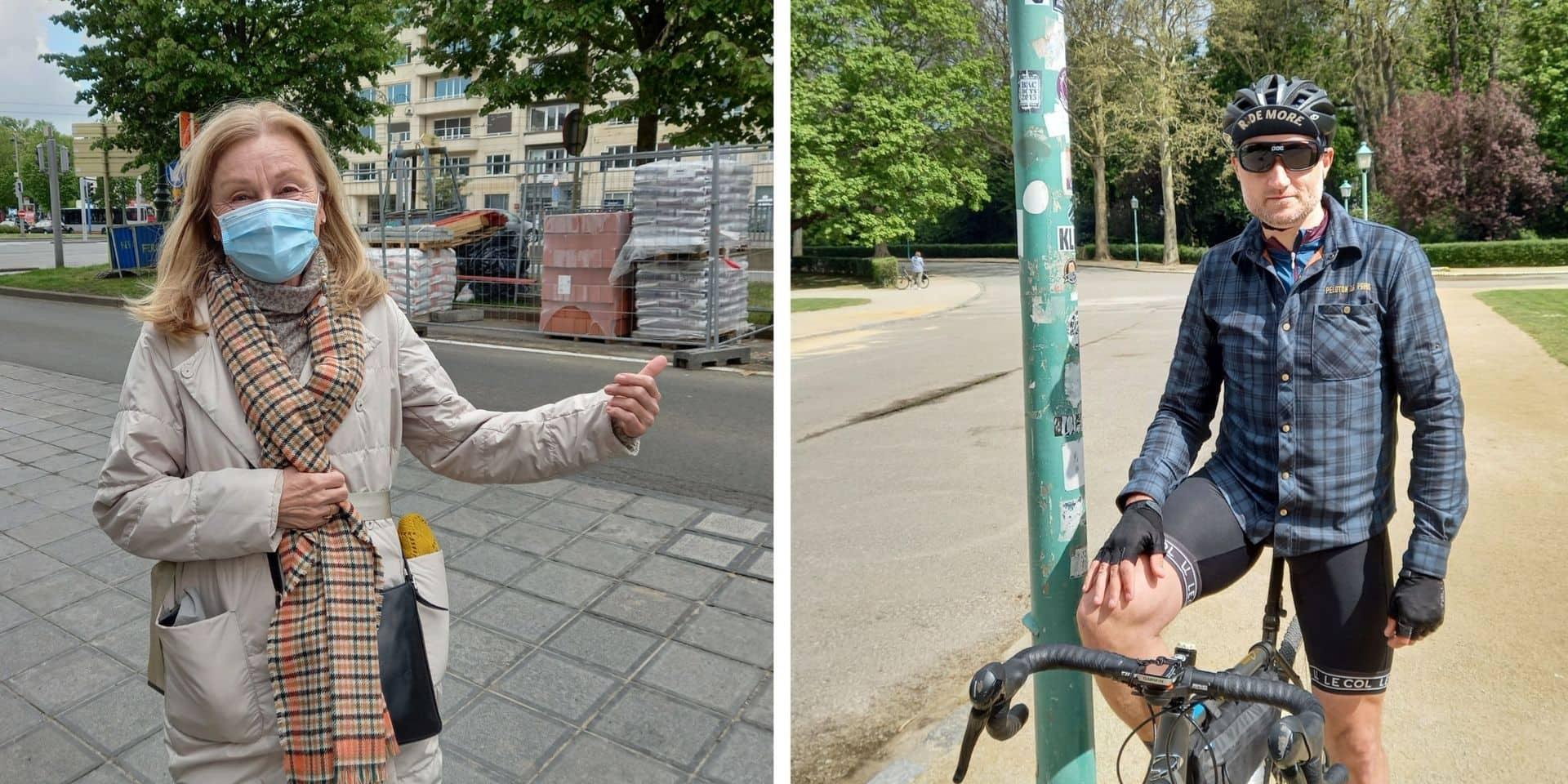 """Plusieurs Bruxellois témoignent sur la zone 30 : """"C'est plus sécurisant et moins anxiogène"""""""