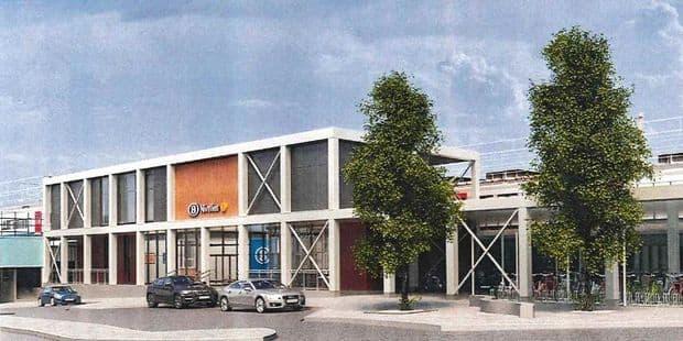Permis déposé pour le nouveau bâtiment voyageurs à la gare de Nivelles