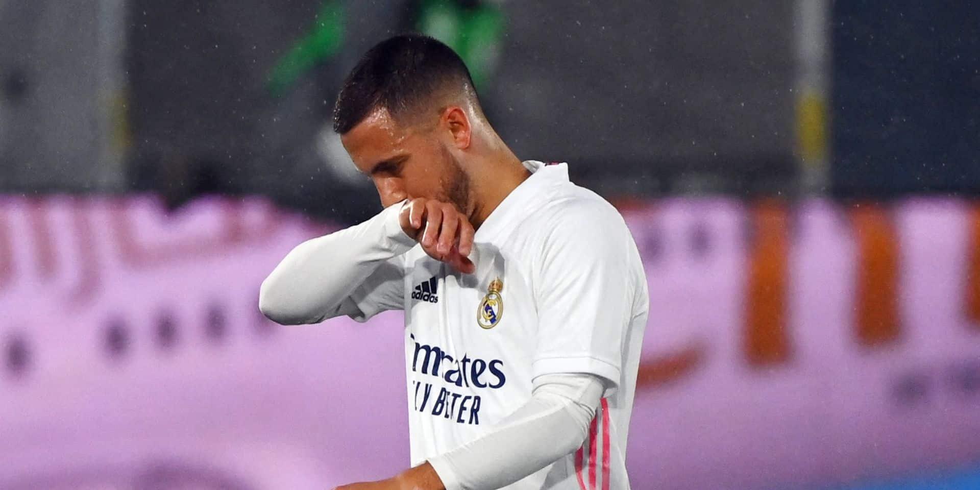 Inquiétude pour le Real Madrid... et les Diables: Hazard officiellement absent contre Villarreal ce samedi