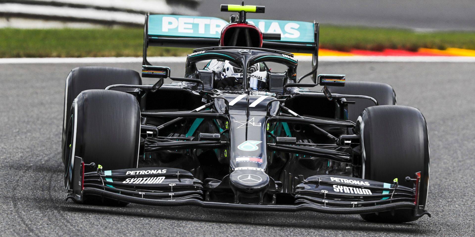 GP de Belgique: Bottas le plus rapide, les Ferrari à la rue