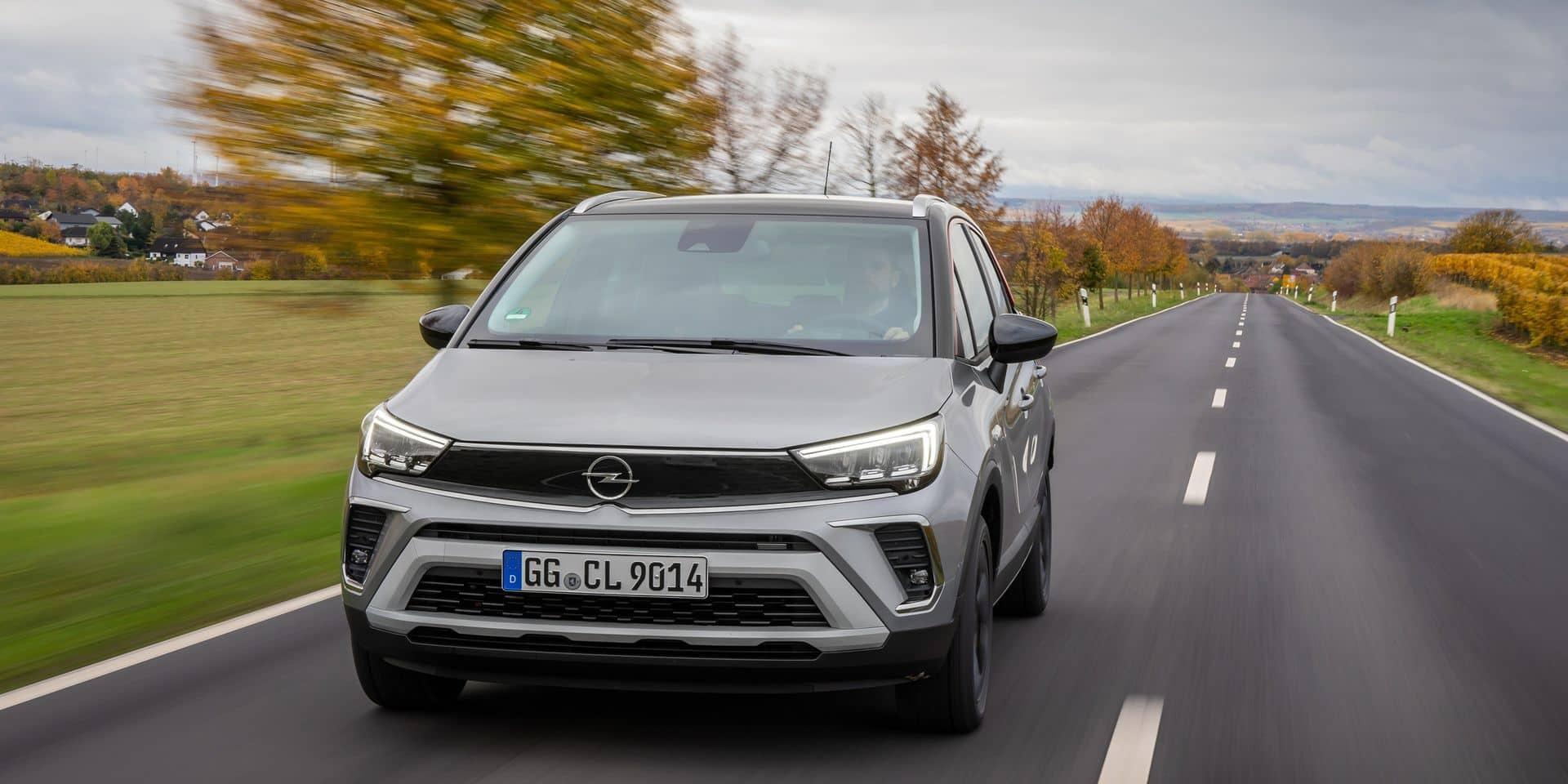 Essai auto: Opel Crossland 2020, une personnalité plus affirmée