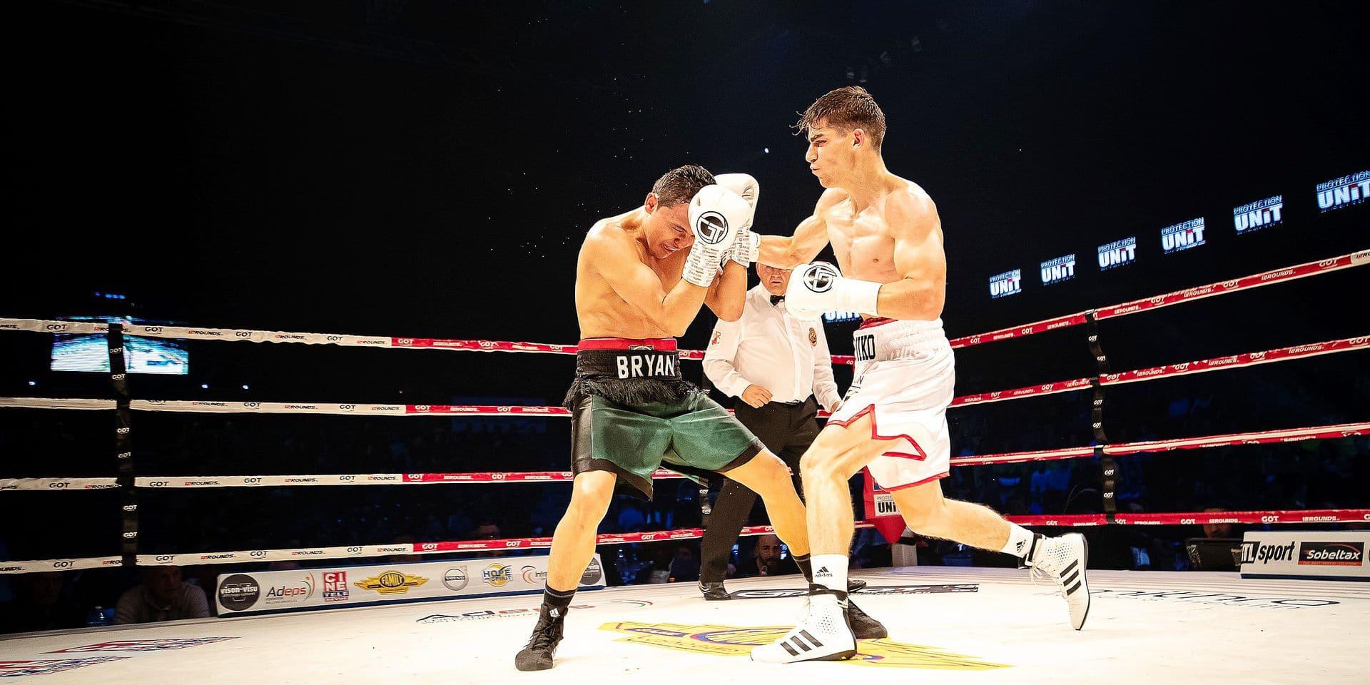 """Miko Khatchatryan après le gala de Charleroi: """"Je dois profiter de ma forme"""""""