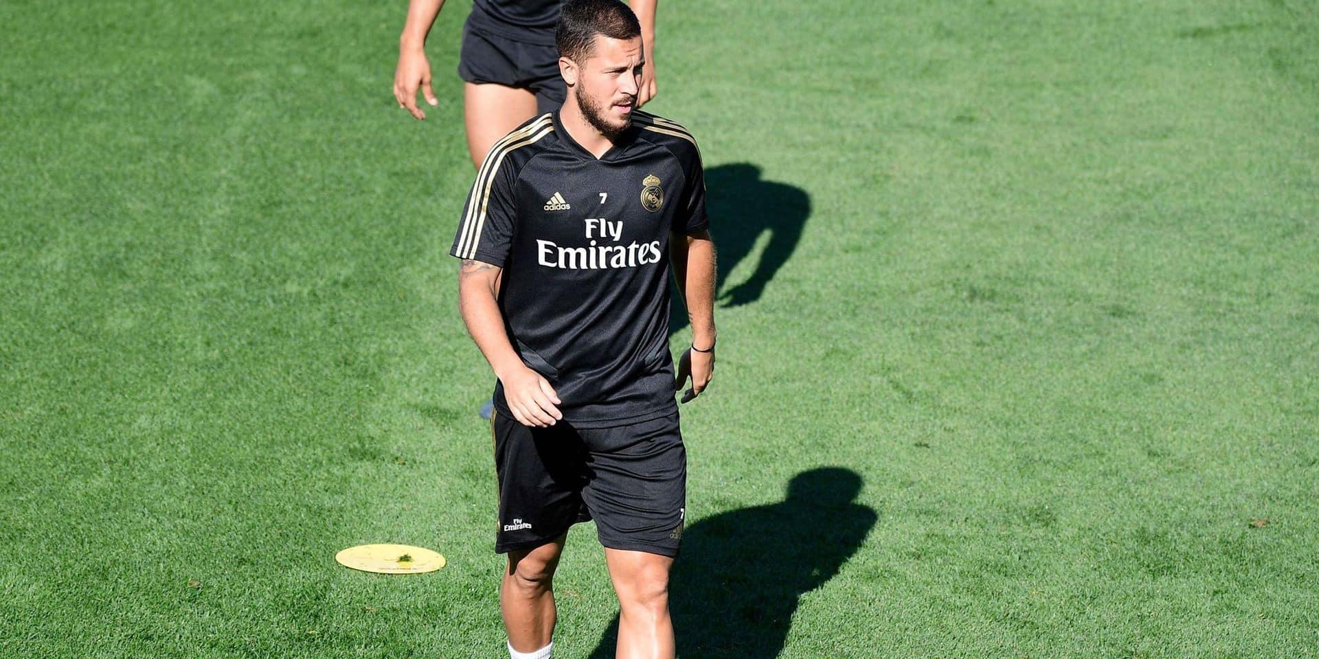 La tuile pour Eden Hazard: il ne devrait pas disputer la première rencontre du Real en Liga