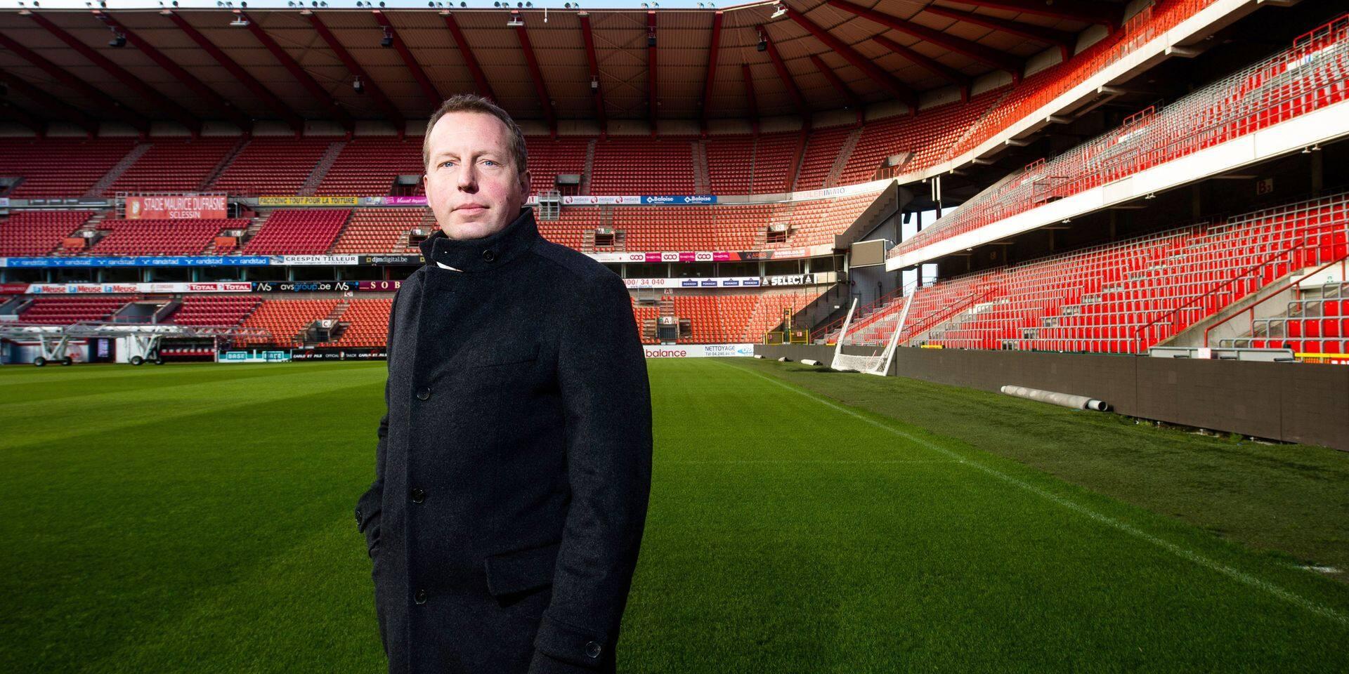Liège - Standard de Liège: Bruno Venanzi - président du standard de Liège