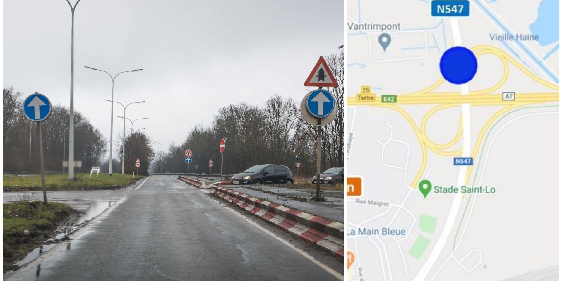 Saint-Ghislain: Nouvelle phase pour le chantier de la sortie d'autoroute