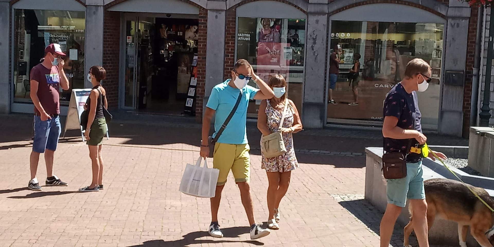 """Port du masque en province de Luxembourg : """"Contrôler un promeneur seul n'a pas de sens"""""""