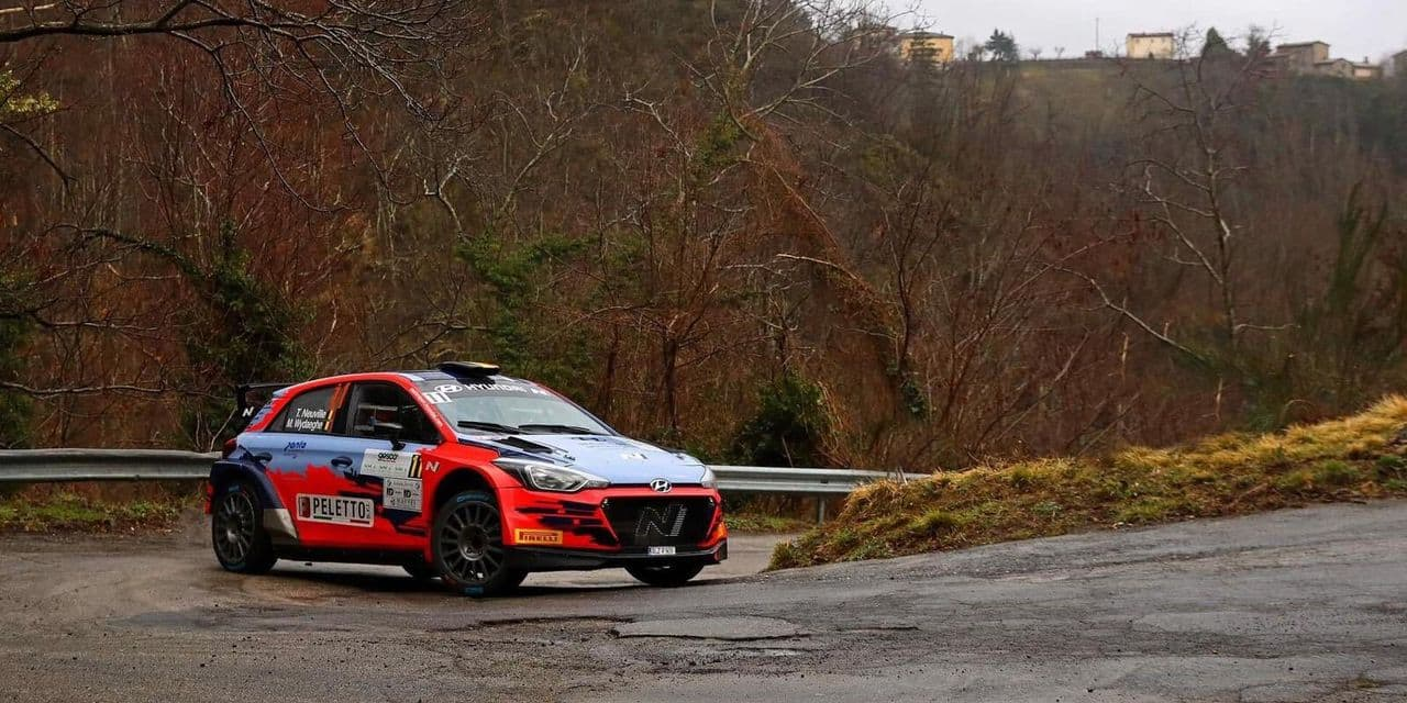 Thierry Neuville premier leader au Rally Il Ciocco - dh.be