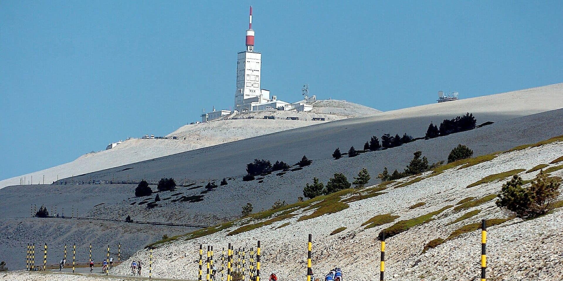 Tour de la Provence: la 3e étape-reine qui arrive au Mont Ventoux sera disputée malgré les chutes de neige