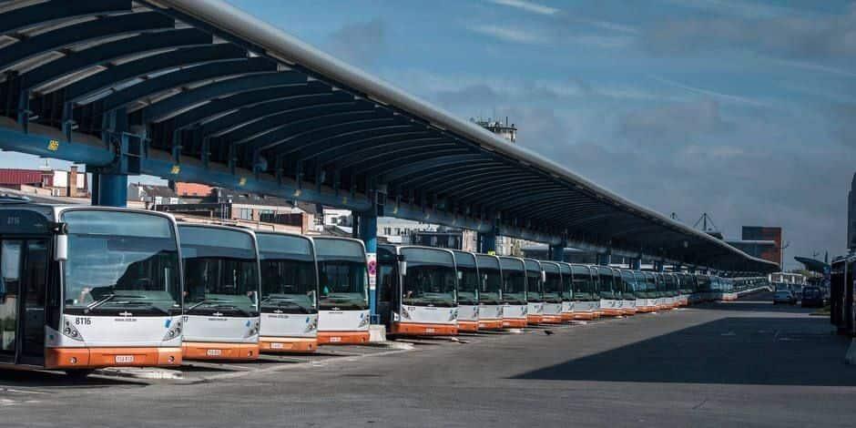 """Le dépôt de bus de Haren sera démoli et reconstruit pour """"préparer l'électrification future de la flotte"""""""
