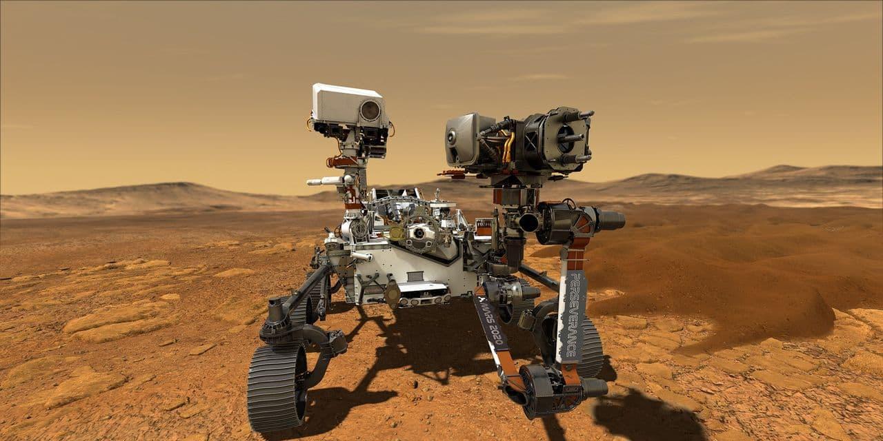 La Nasa publie la première vidéo de l'atterrissage du rover Perseverance sur Mars (VIDEO) - dh.be