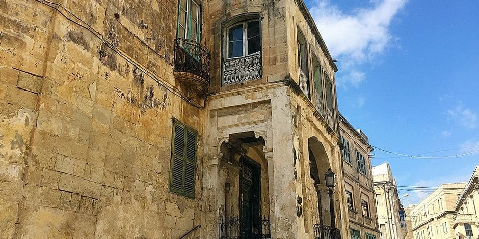 Malta residence of the Queen