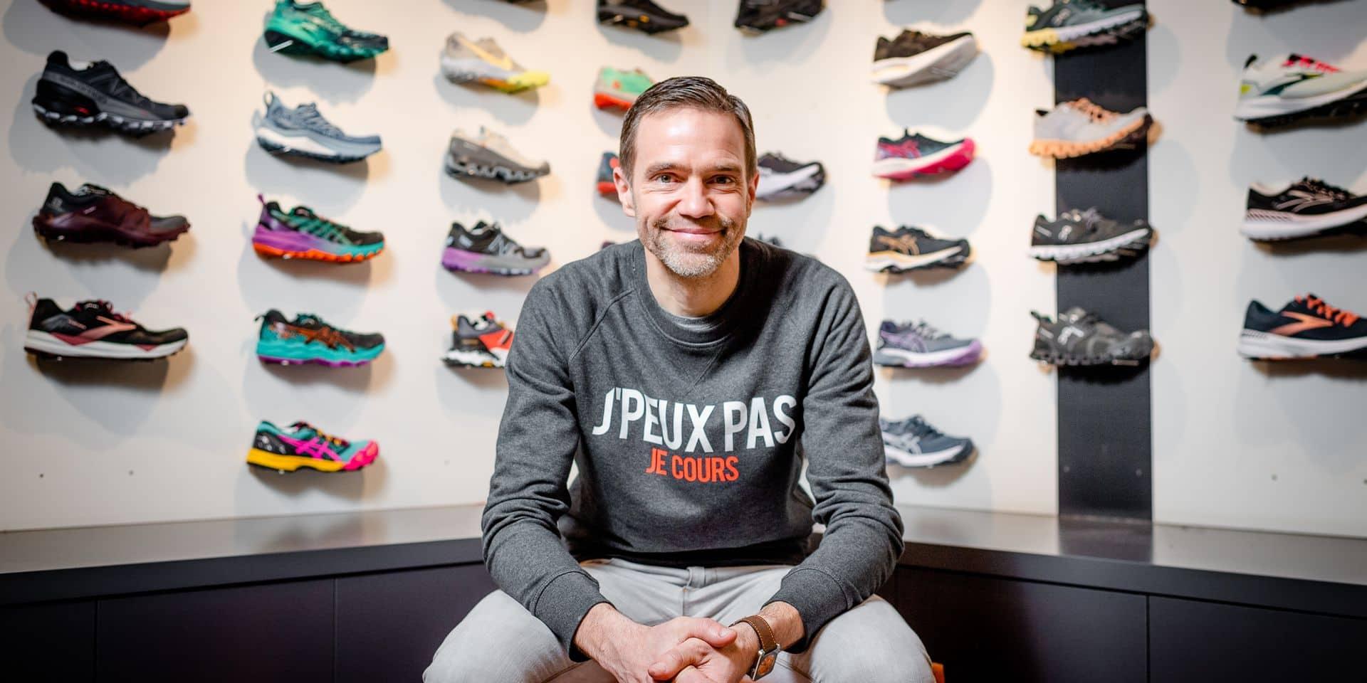 Bruxelles - Uccle: Christophe Thomas, CEO Trakks - running - trail - sports